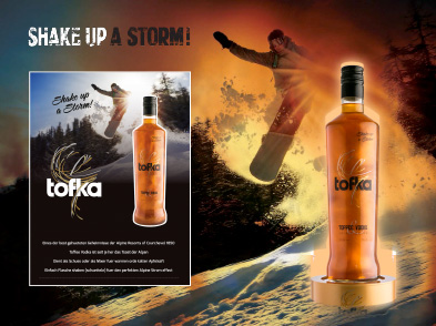 An innovative first in the drinks sector shakes up a storm