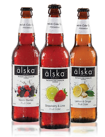 TFWA WORLD EXHIBITION PREVIEW: A touch of Stockholm hits the World of Patria stand with its new alska fruit cider