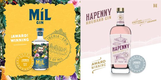 Two Awards at Gin Master's 2019