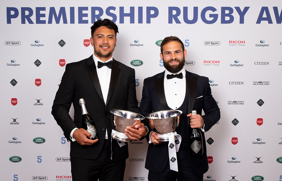 Follador sponsored the top try scorer award at the recent Rugby Premiership Awards